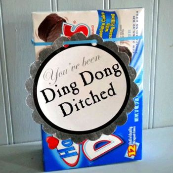 ding dong ditched