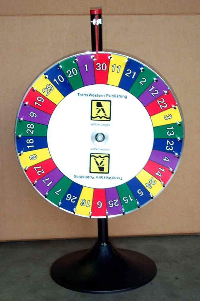 Prize Wheel for Church